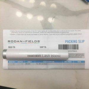Rodan and Fields lash boost new